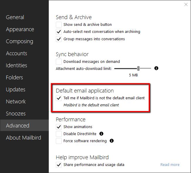 mailbird 2.0 offline installer